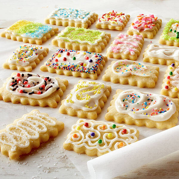 Vanilla Butter Cookies Recipes