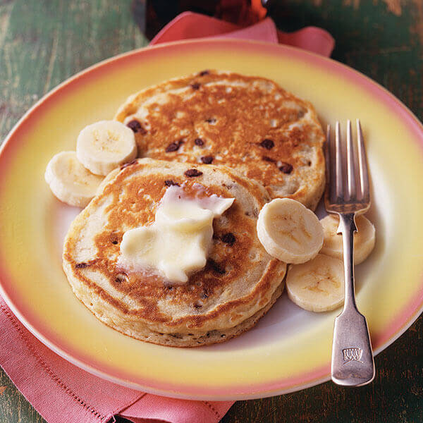 Banana-Chocolate Chip Pancakes Image