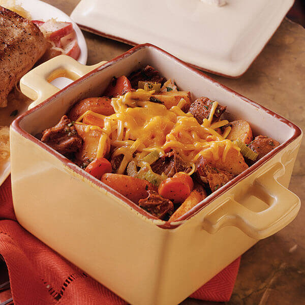 Beef & Potato Casserole Image