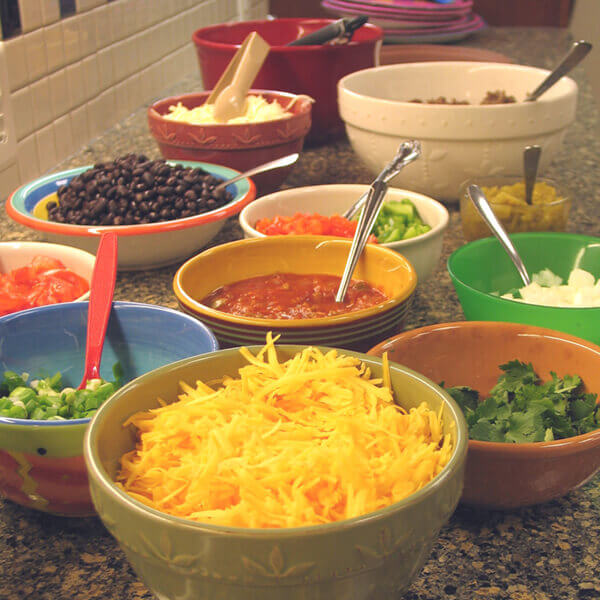 Build-Your-Own Quesadilla Bar Image