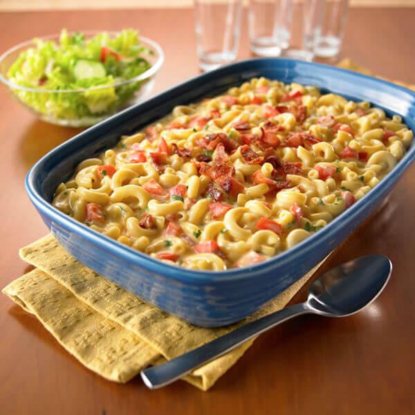 Bacon & Tomato Macaroni 'N Cheese Image