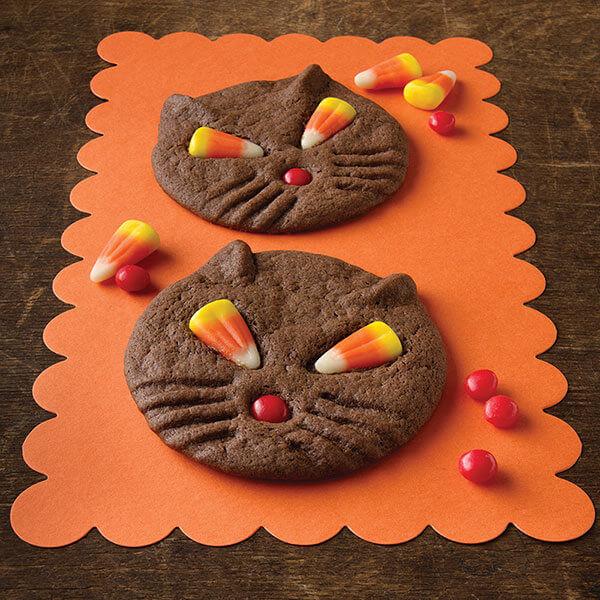 Halloween Black Cat Chocolate Cookie Recipe