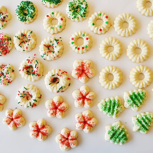 Best Ever Spritz Cookies Gluten-Free