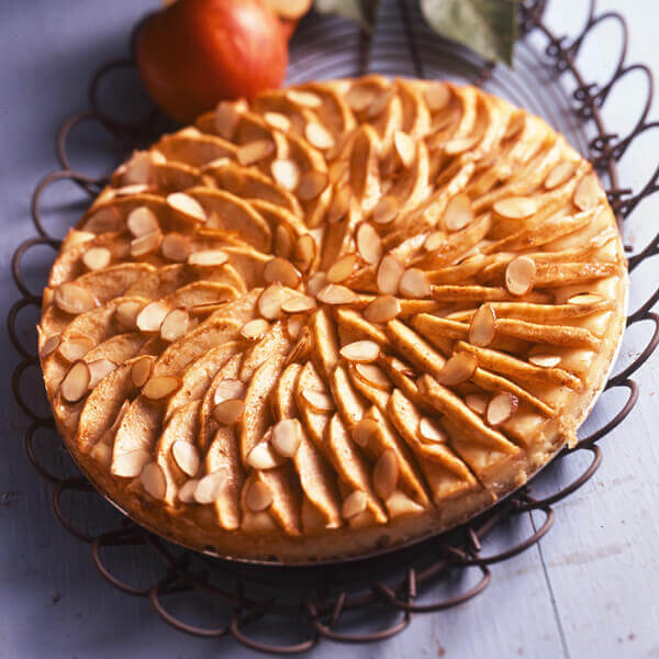 Bavarian Apple Tart Recipe Land O Lakes