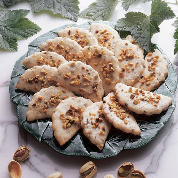Pistachio Butter Cookies Recipe