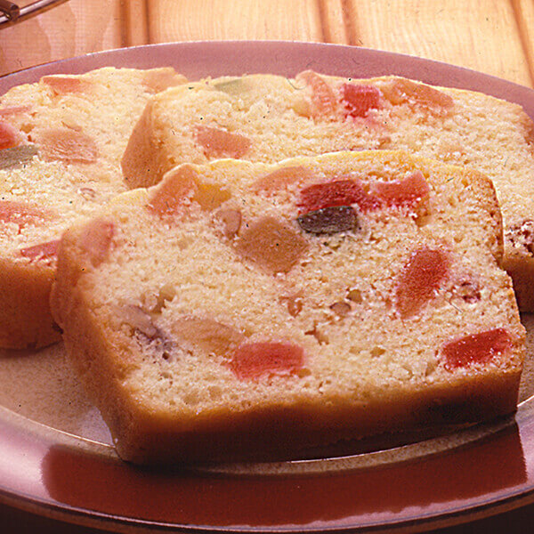 Buttery Light Fruitcake Image