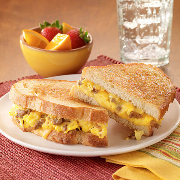 Breakfast For Dinner Grilled Cheese Recipe Land O Lakes