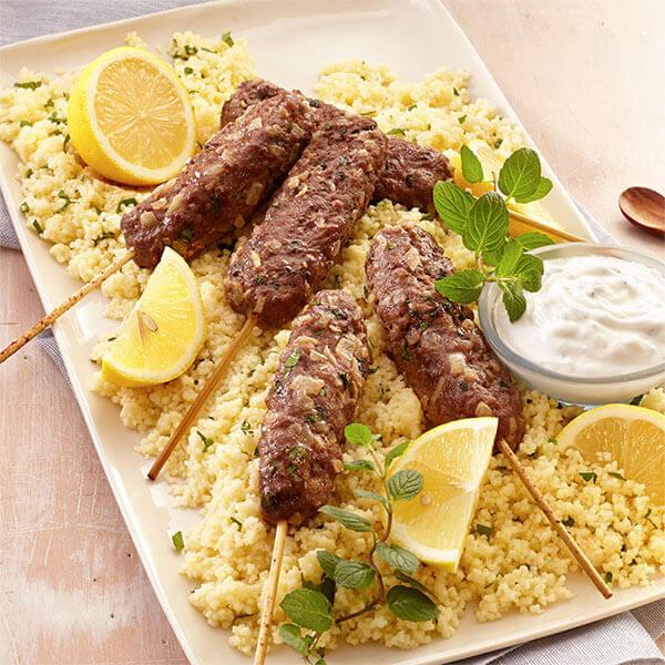 Beef Kofta With Couscous Image