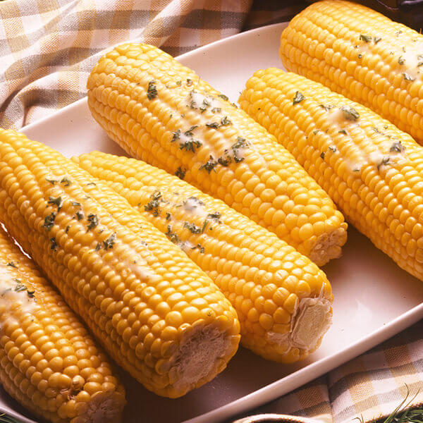 Corn-On-The-Cob with Seasoned Butters Image