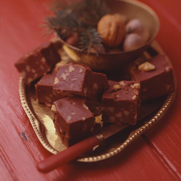 Chocolate Walnut Fudge Image