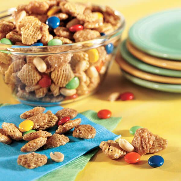 Crunchy Sweet Snack Mix Image