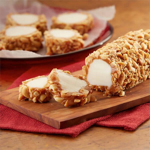 Caramel Nut Logs Image