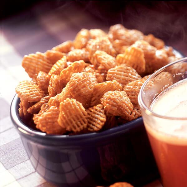 Crispy Glazed Snack Mix Image
