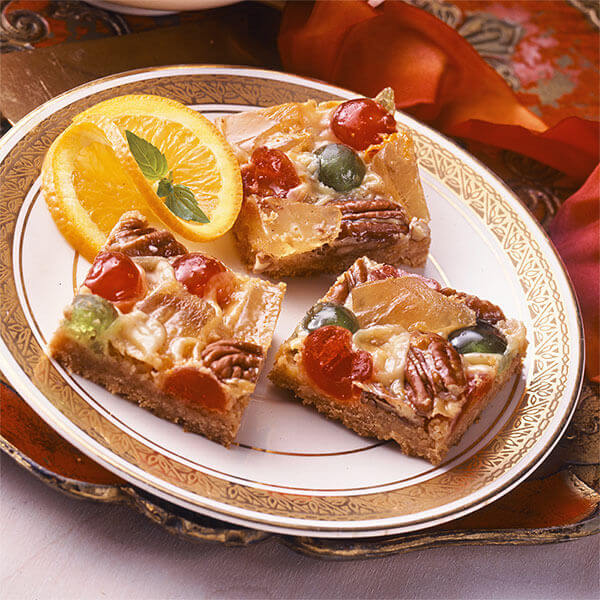 Candied Fruit Bars Image