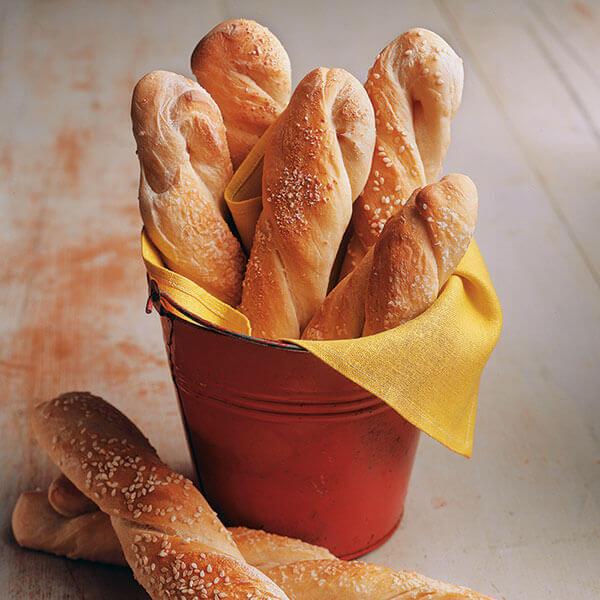 Chewy Sourdough Breadsticks Image