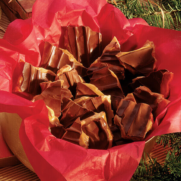 Chocolate-Topped Toffee Image