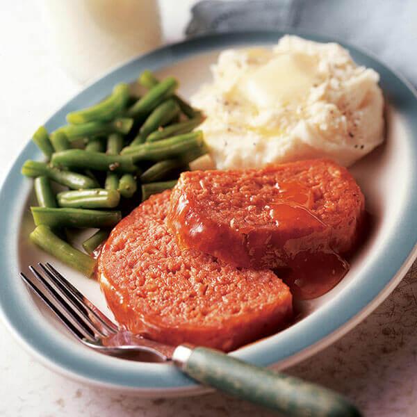 Cheesy Ham Loaf Image