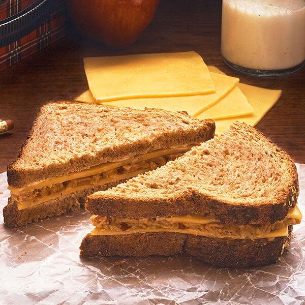Cheese & Tuna Salad Sandwiches Image