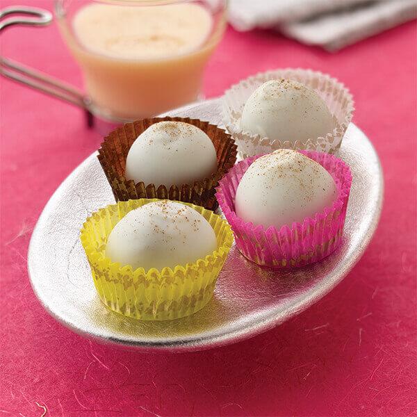 Chocolate Eggnog Truffles Image