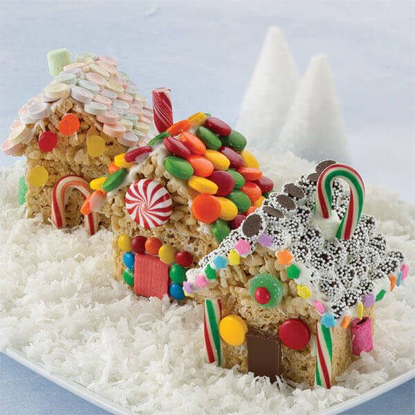 Crispy Christmas Cottages Image