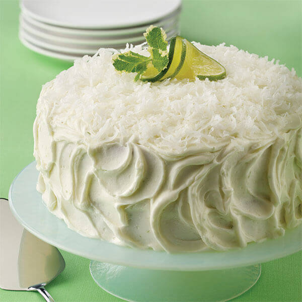 Coconut Lime Layer Cake Image