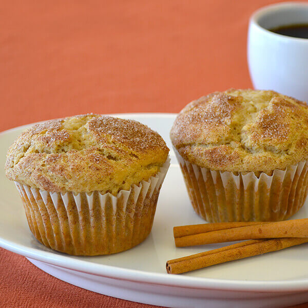 Cinnamon Rhubarb Muffin