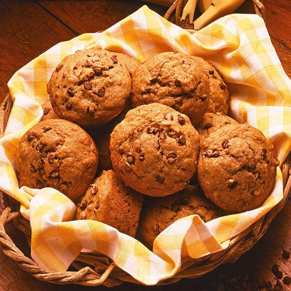 Chocolate Chip Banana Muffins Image