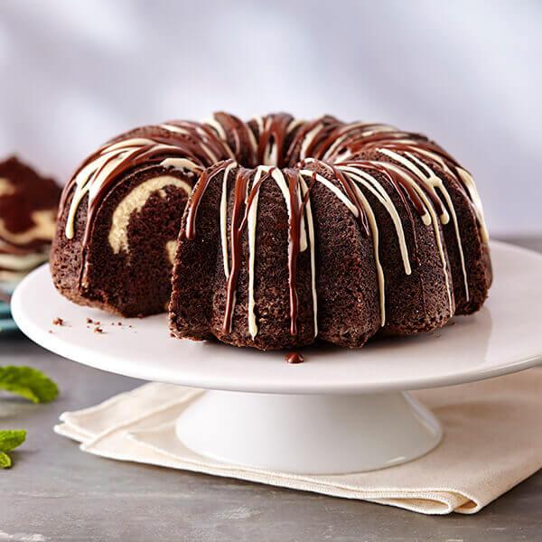 Cream Filled Chocolate Cake Recipe