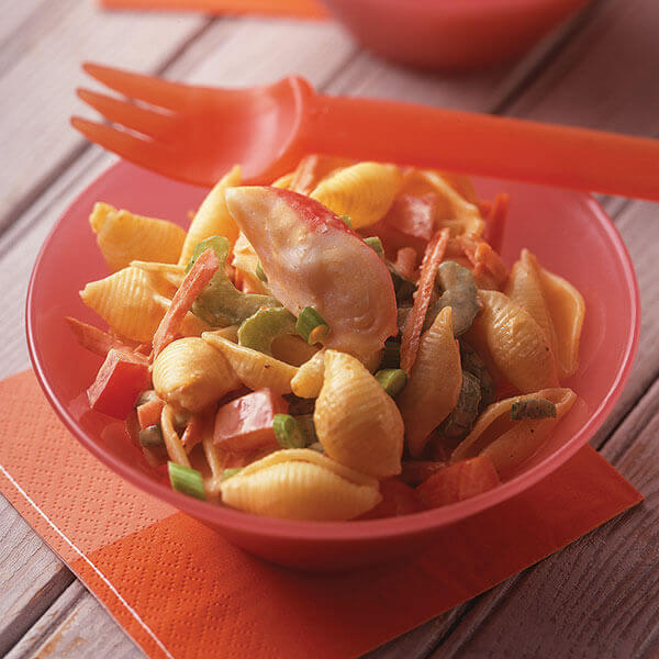 Crabmeat & Pasta Salad Image