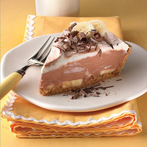 Chocolate Banana Cream Pie Image