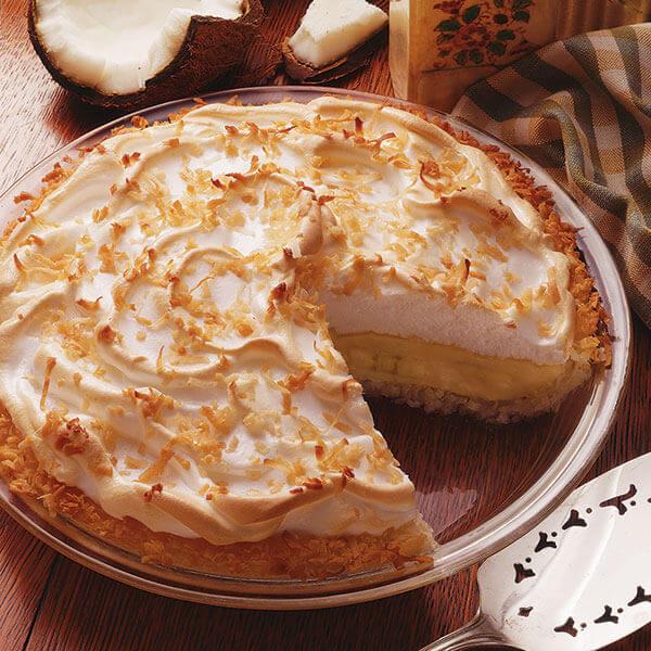Coconut-Banana Cream Pie Image