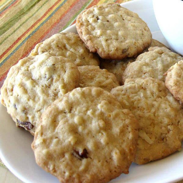 Oat Butter Cookies Recipe