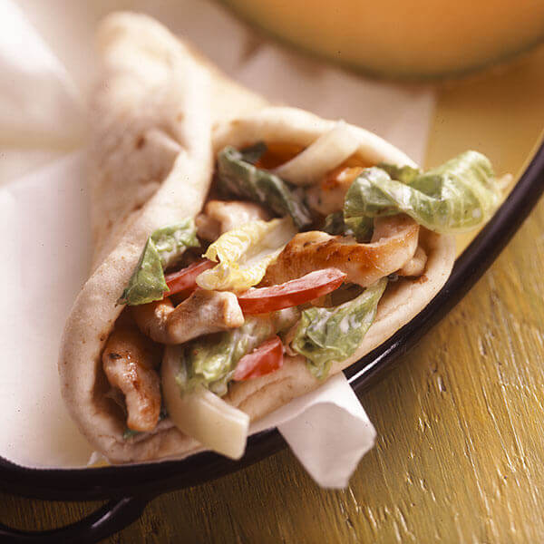 Chicken Ranch Pitas Recipe Land O Lakes