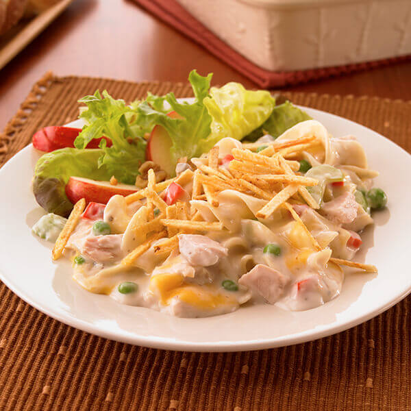 Cheesy Tuna Noodle Casserole Image