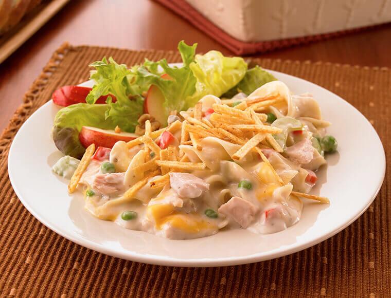 Cheesy Tuna Noodle Casserole Recipe Land O Lakes