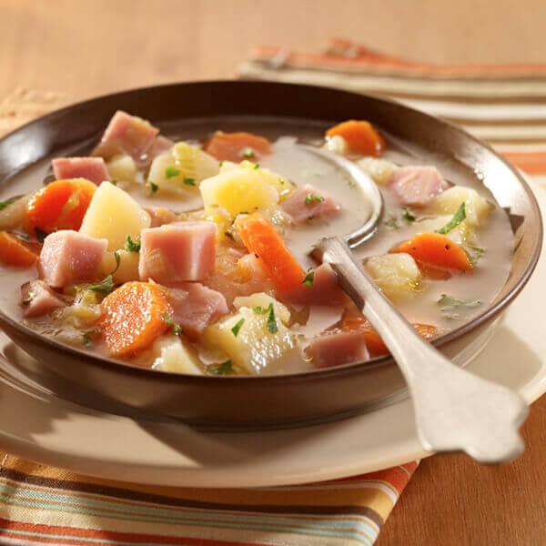 Chunky Potato & Ham Soup Image