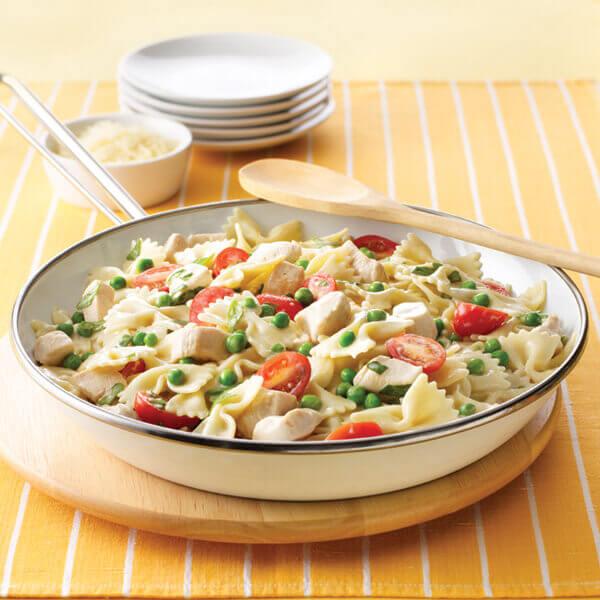 Creamy Bow Tie Pasta & Chicken Recipe | Land O'Lakes