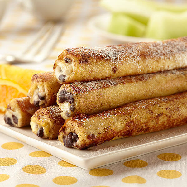Cannoli French Toast Rolls Image