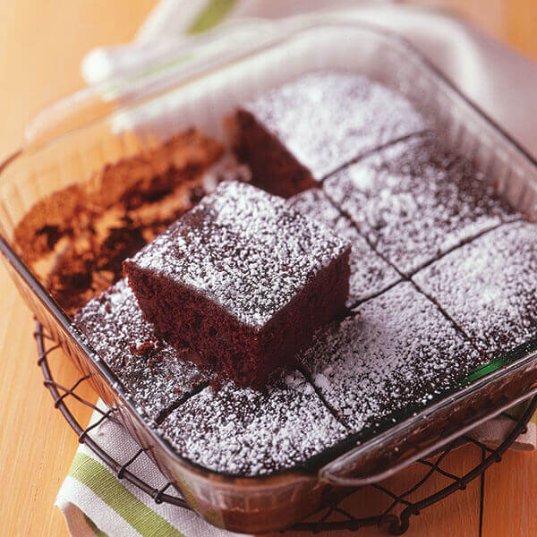 Double Chocolate Snack Cake Image