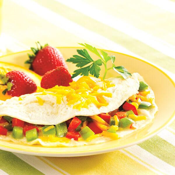 Egg White Omelet Image