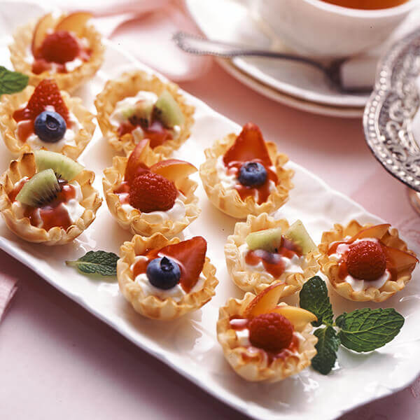 Easy Fruit Tarts Image