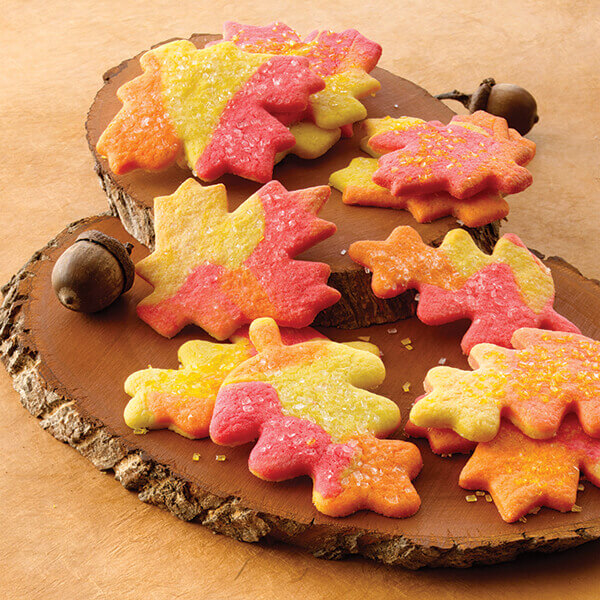 Fall Leaves Sugar Cookies Recipe
