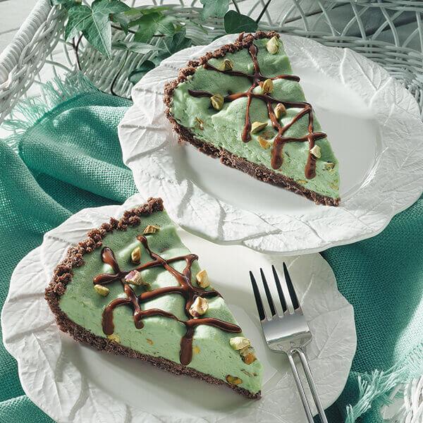 Frozen Pistachio Pie Image