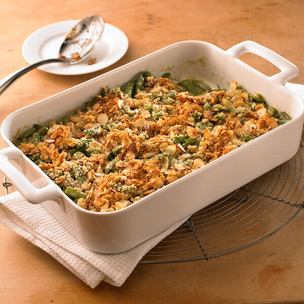 Green Bean Almond Bake Image