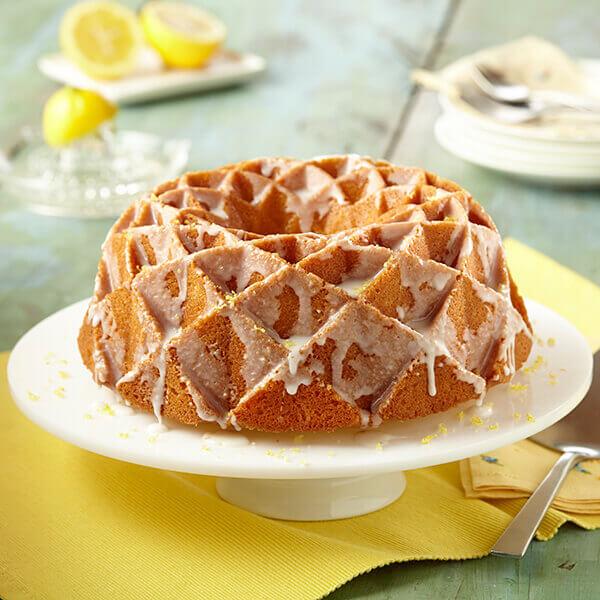 Glazed Lemon Pound Cake Image