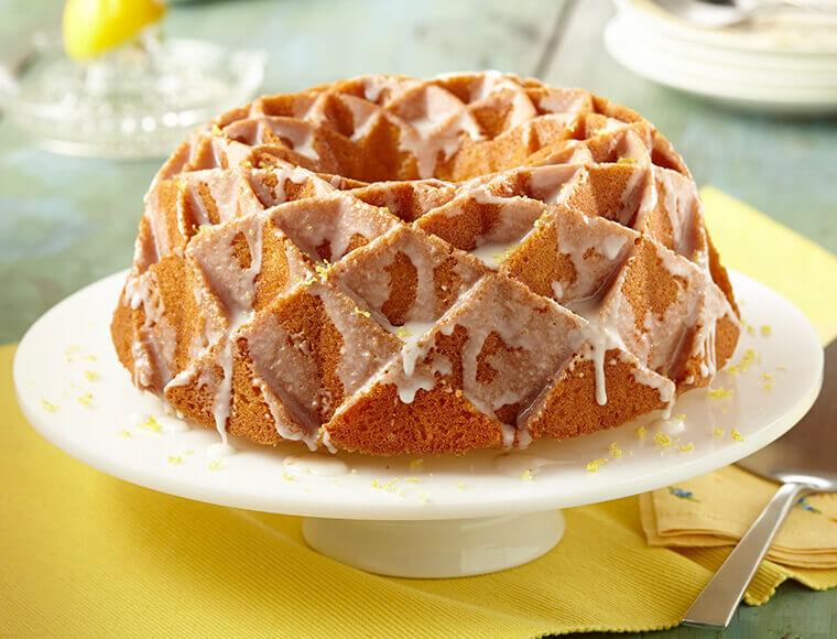 Lemon Pound Cake with Glaze Recipe | Land O'Lakes