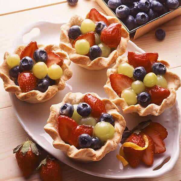 Glazed Fruit Cups Recipe Land O Lakes