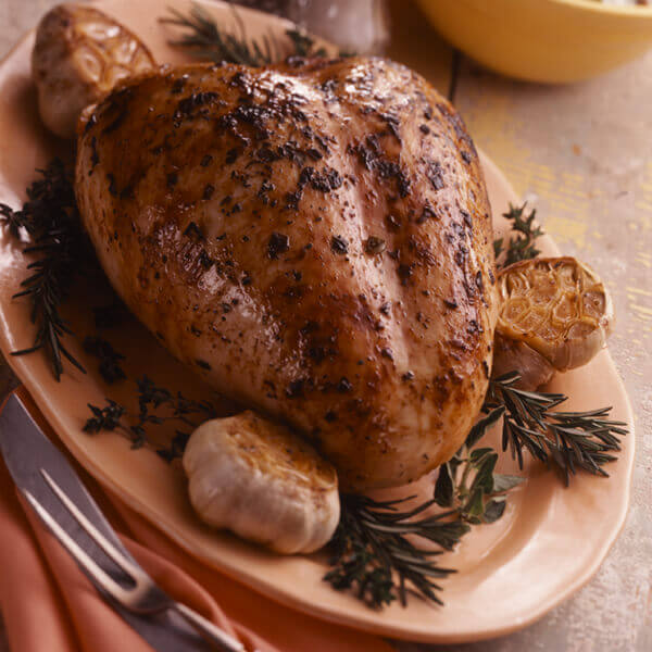 Grilled Herb Turkey Breast Image