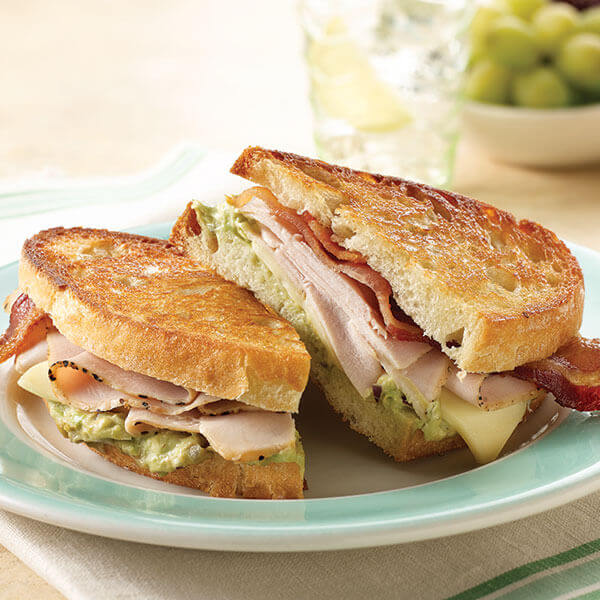 Grilled California Turkey Bistro Sandwich Recipe Land O Lakes