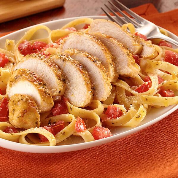 Garlic Chicken Pasta Image